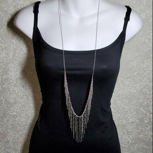 🖤Panacea Long Fringe Necklace